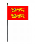 Lower Normandy Hand Flag - Small.